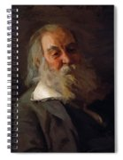 Portrait Of Walt Whitman 1887 Spiral Notebook