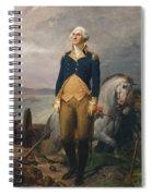 Portrait Of Washington Spiral Notebook