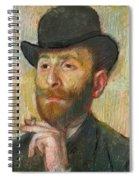 Portrait Of Zacherie Zacharian Spiral Notebook