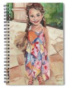Portrait Painting Spiral Notebook