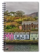 Portree Harbour Spiral Notebook