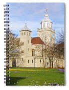 Portsmouth Cathedral In Springtime Spiral Notebook
