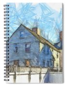 Portsmouth New Hampshire Pencil Spiral Notebook