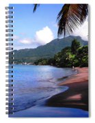 Portsmouth Shore On Dominica Filtered Spiral Notebook