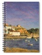 Portugal, Ferragudo Village  Spiral Notebook