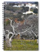 Portuguese Almond Plantation Spiral Notebook