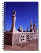 Portuguese Fortress  Lisbon Portugal Spiral Notebook