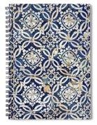 Portuguese Glazed Tiles Spiral Notebook