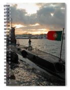 Portuguese Navy Submarine Spiral Notebook