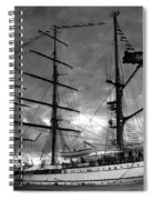 Portuguese Tall Ship Spiral Notebook