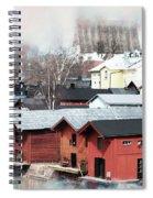 Porvoo Town II Spiral Notebook