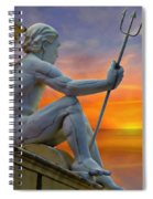 Poseidon - God Of The Sea Spiral Notebook
