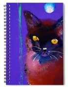 Posh Tom Cat Spiral Notebook