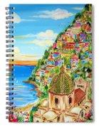 Positano Dreamy Sunset Spiral Notebook