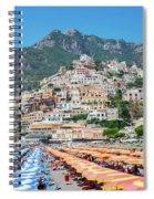 Positano Resort Spiral Notebook