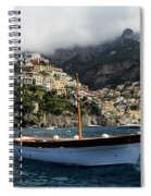 Positano By The Water Spiral Notebook