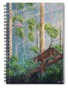 Possible Panther Spiral Notebook