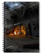 Post Apocalyptic Spiral Notebook