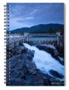 Post Falls Dam Spiral Notebook