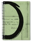 Postcard For Peace Spiral Notebook
