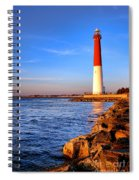 Postcard From Barnegat  Spiral Notebook