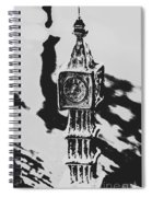 Postcards From Big Ben  Spiral Notebook