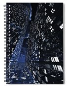 Poster-city 0 Spiral Notebook
