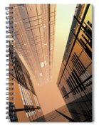 Poster-city 2 Spiral Notebook