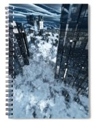 Poster-city 8 Spiral Notebook