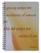 Poster Series - 15 Spiral Notebook