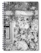 Postes In Black And White Spiral Notebook