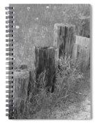 Posts In A Row Spiral Notebook