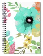 Posy II Spiral Notebook