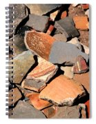 Pot Shards Spiral Notebook