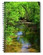 Potamac River In Maryland Spiral Notebook