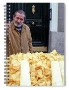 Potato Chip Man Spiral Notebook