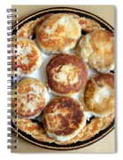 Potato Cutlets With Chicken Filling Spiral Notebook