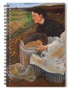 Potatoe Pickers Spiral Notebook