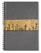 Potawatomi Medicine Stick Spiral Notebook