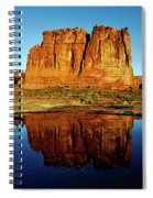 Pothole Reflections - Arches National Park Spiral Notebook