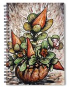 Potted Flower #2 Spiral Notebook