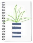 Potted Plant 2- Art By Linda Woods Spiral Notebook