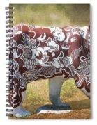Pottery Bear Spiral Notebook