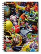 Pottery   Spiral Notebook