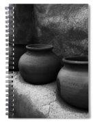 Pottery Tumacacori Arizona Spiral Notebook