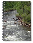 Poudre River 3 Spiral Notebook