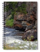 Poudre River 6 Spiral Notebook