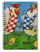 Poultry In Motion Spiral Notebook
