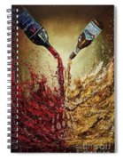 Pouring It Down Spiral Notebook