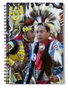 Pow Wow Back In Time 1 Spiral Notebook